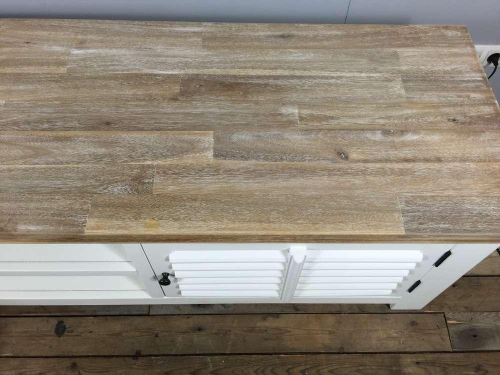 Dressoir Wit Landelijk : Landelijk dressoir met laden en schuifdeuren cm uniek