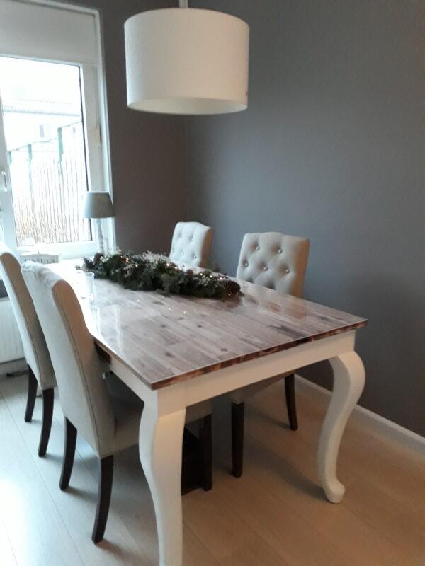 Ongebruikt Landelijke tafel / barok 220 cm - Ans Woonshop HA-55
