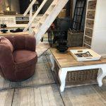 landelijk fauteuiltje Velvet