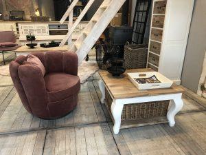 Landelijke Lounge Stoel.Nieuwe Collectie Meubels Ans Woonshop