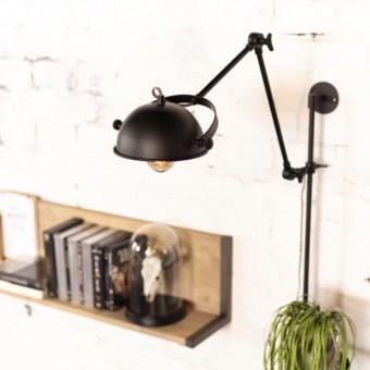 wandlamp-eagle-metaal-zwart