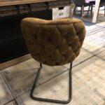 landelijke stoel gecapitonneerd paulet